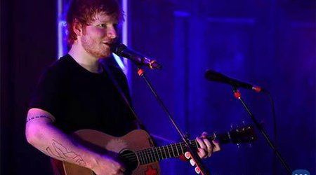 Music Friday: Ed Sheeran Carves a Heart Pendant for His Girlfriend in the 2011 Love Song, 'Wake Me Up'